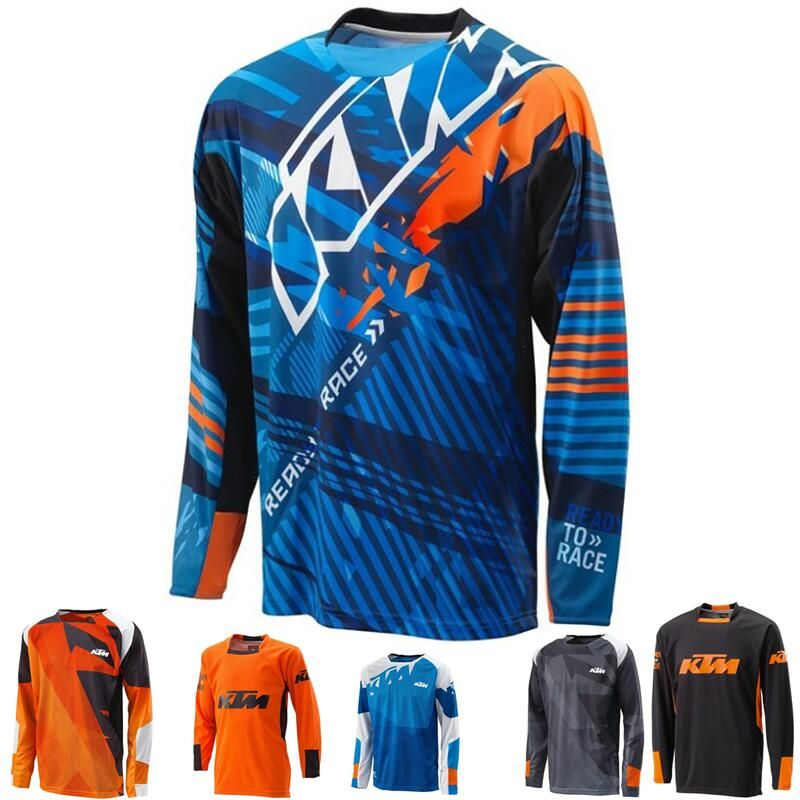 Motocross Jersey maillot ciclismo 2018 Mountain downhill Bike long sleeve cycling  Jersey DH MX RBX MTB racing clothes Off-road 2088bcfc0