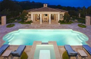 Newport Coast Mansion - Traditional - Pool - los angeles - by SoCal Contractor