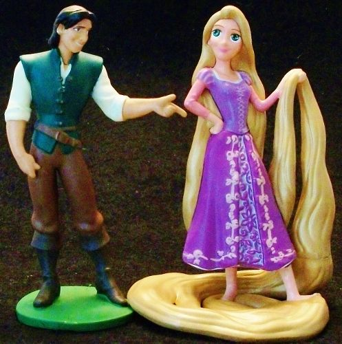 tangled wedding cake topper rapunzel amp flynn disney tangled princess wedding pvc 20753