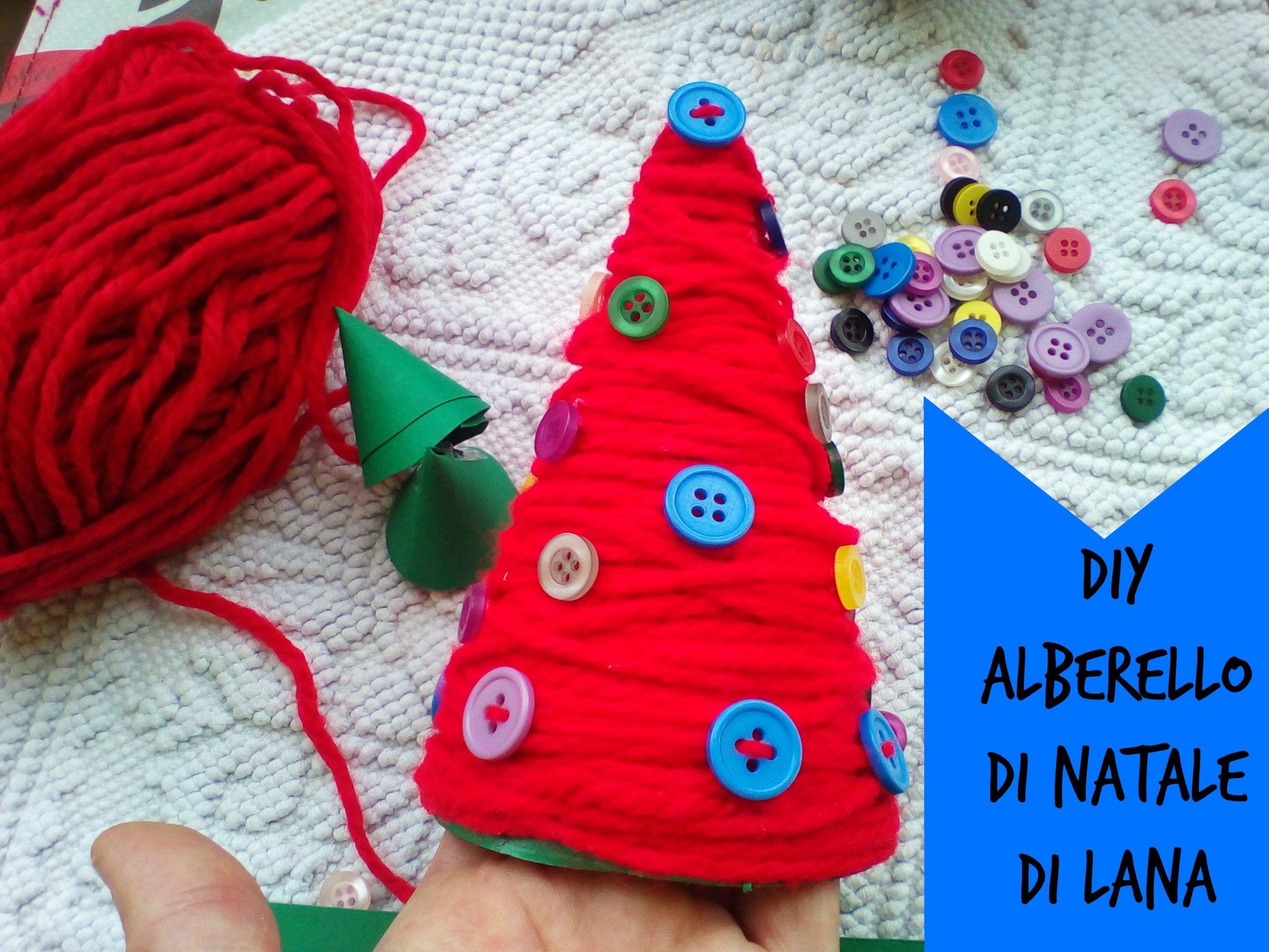 Idee Di Riciclo Per Natale riciclo creativo: realizzare un albero di natale di lana