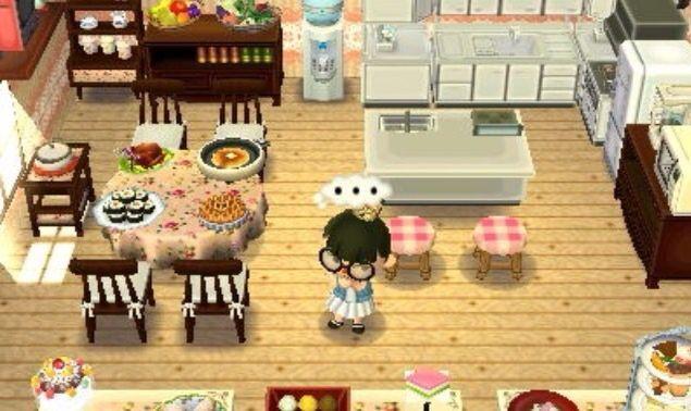 Cute kitchen :3 | Animal crossing, Qr codes animal ... on Animal Crossing Kitchen Island  id=55126