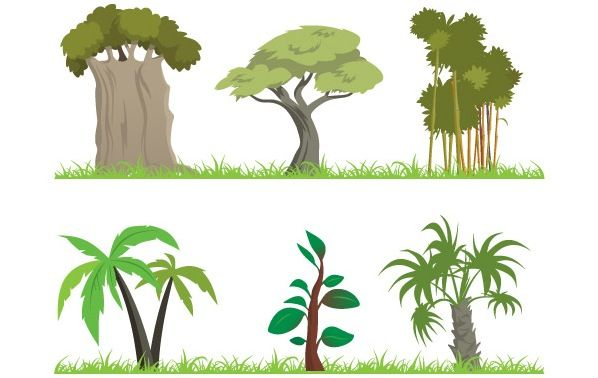 jungle plants clip art jungle tree forest nature leaf grass rh pinterest com jungle vector download jungle vector background