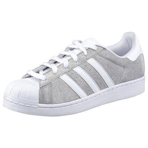 new products b0295 5fb4f Baskets Superstar W adidas Originals femme - Argenté- Vue 1