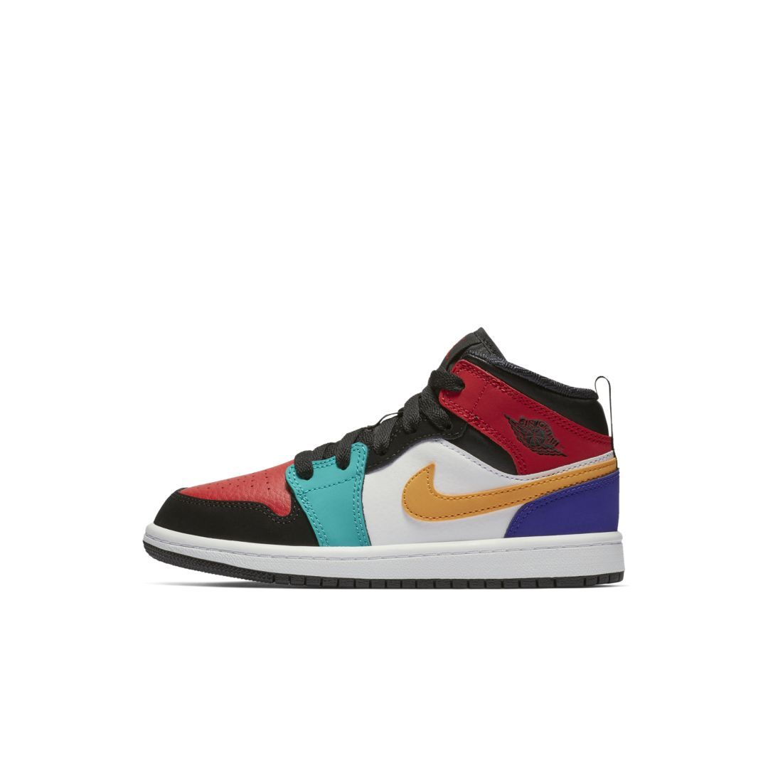 reputable site 595cc 17751 Air Jordan 1 Mid Little Kids' Shoe in 2019 | Products ...