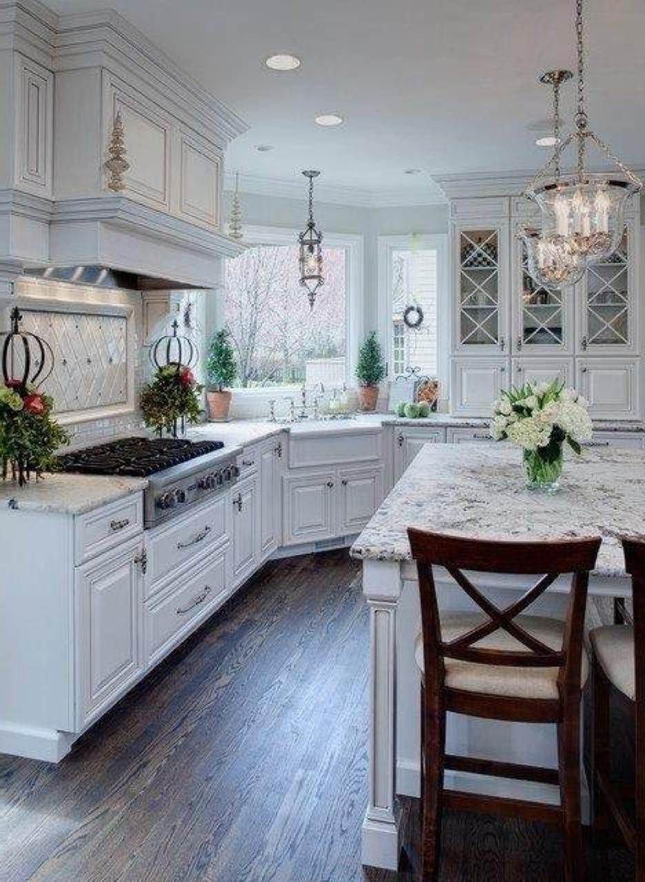 classy white kitchens cabinets | Farmhouse kitchen cabinets ...