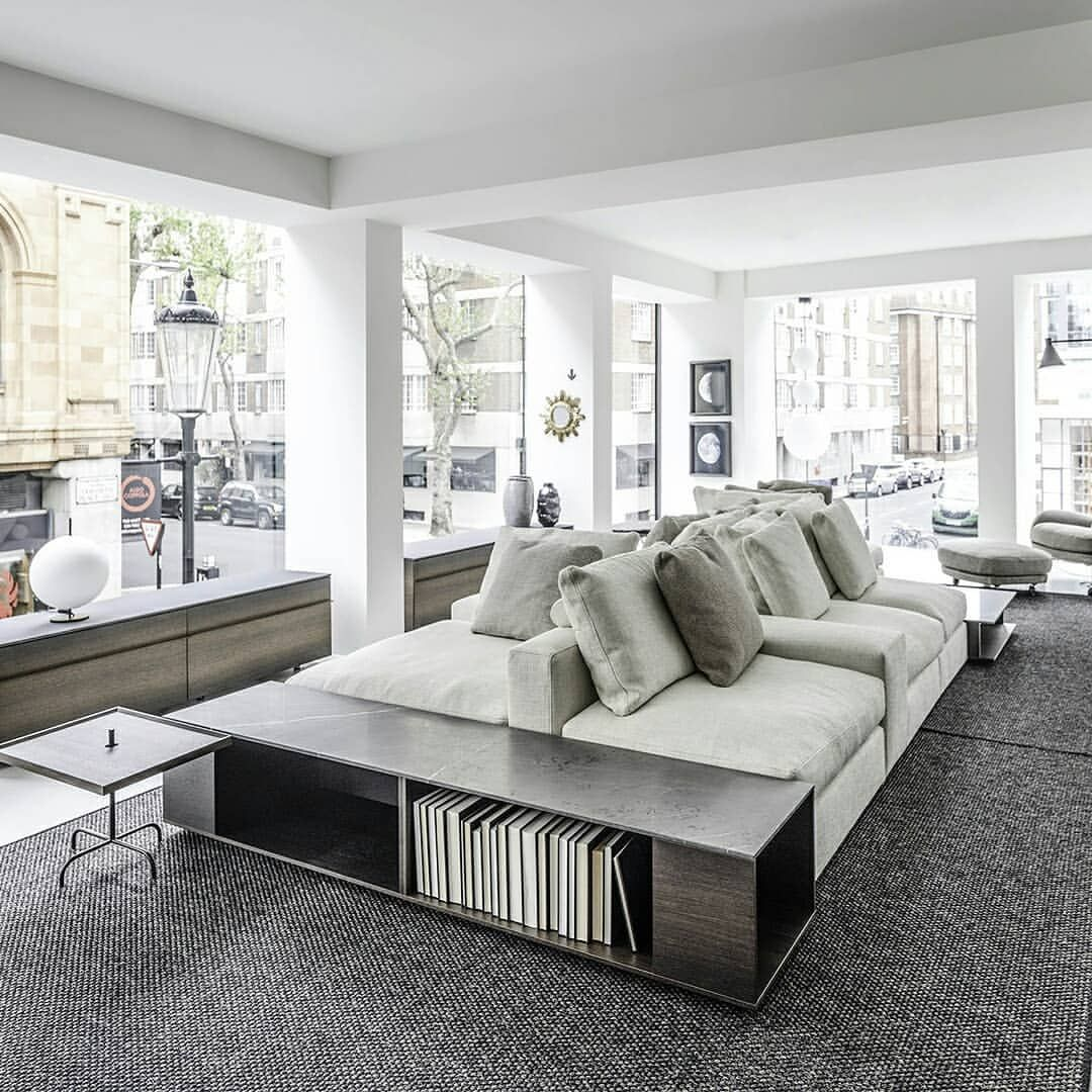De Padova Official On Instagram De Padova Announces The Opening Of Its First Monobrand Uk Showroom In Lond Sofa Layout Apartment Style Office Interior Design
