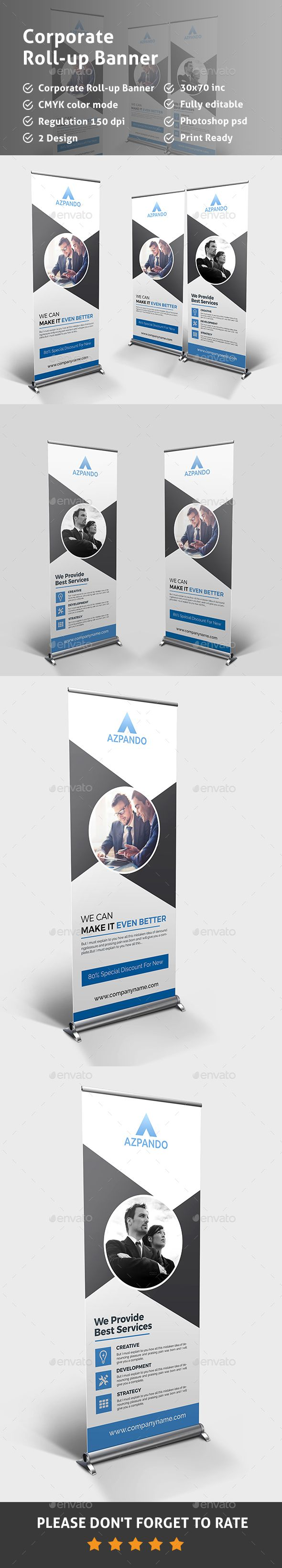 corporate roll up banner rollup banner banner template and banners