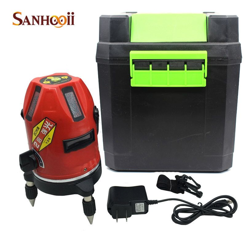 2016NEW 5 Lines 3 Points Laser Level Industrial grade 360