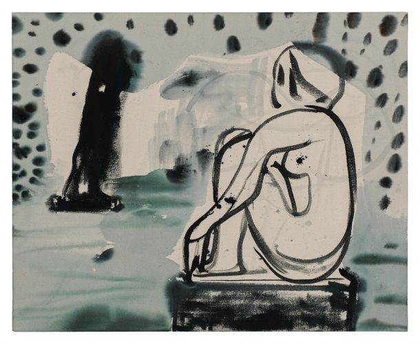 Untitled Sculpture Garden (Small, Blue Tone) - Amy Bessone - Salon 94