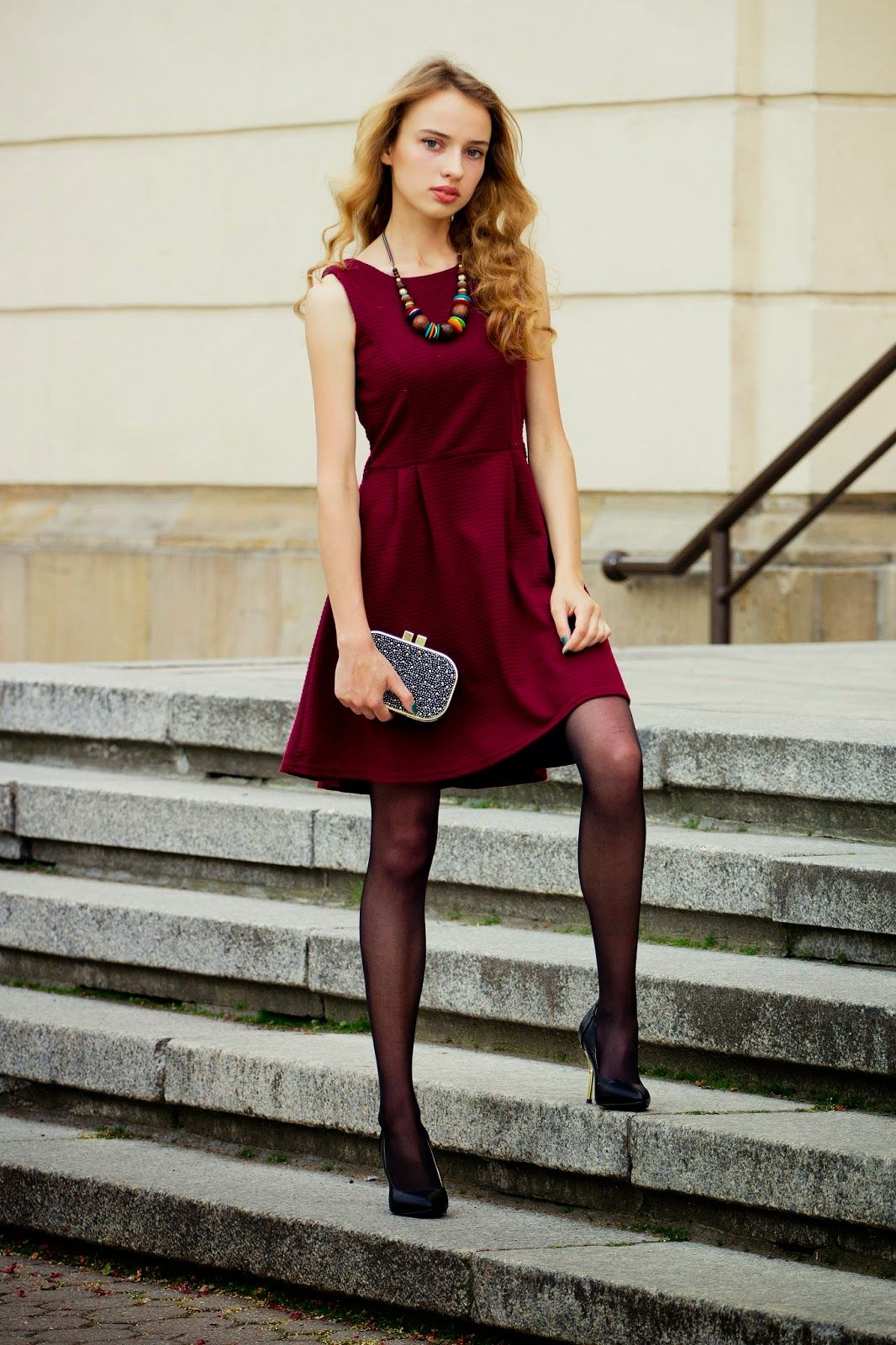 #black #pantyhose #blogger #legs #heels | Blogger Outfit ...