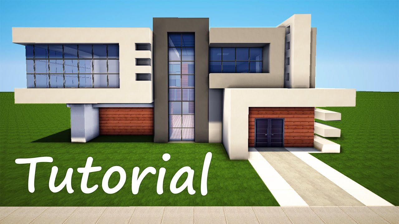 Minecraft: How to Build a Modern House - Best Mansion 2016 ...