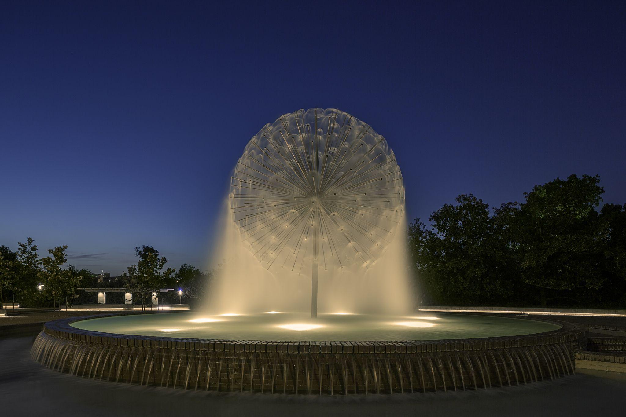 Gus S Wortham Memorial Fountain The Gus S. Wortham