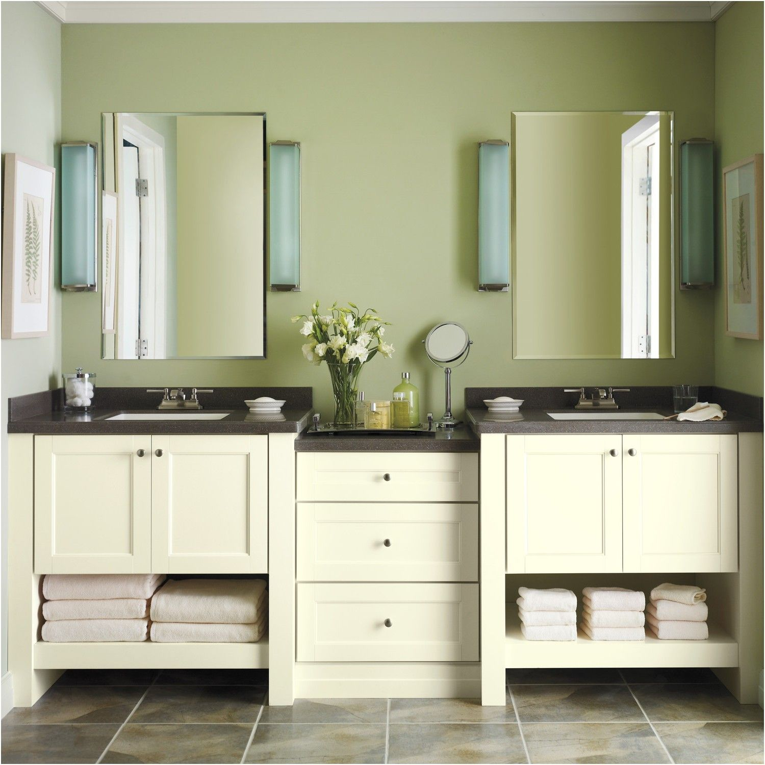 Martha Living Cabinet Solutions From The Home Depot Bathroom Cabinets