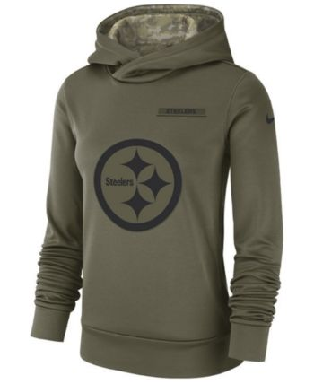 purchase cheap 61d4f 6b097 Nike Women's Pittsburgh Steelers Salute To Service Therma ...