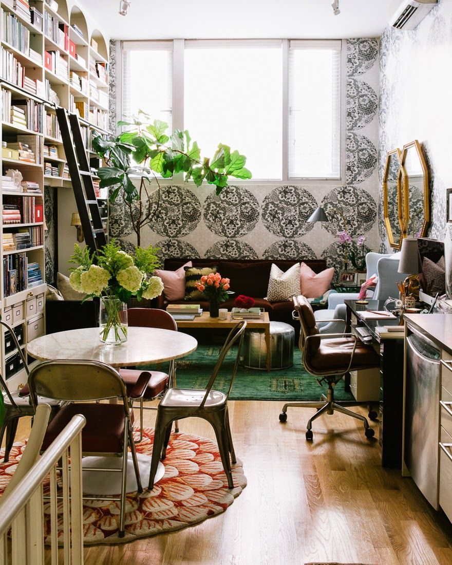 13 Genius Tips For Decorating A Small E Bookshelves Es Studio Apt