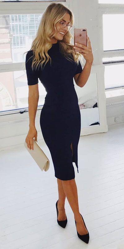 24 stylische Sommer-Workoutfits fürs Büro - Hi Giggle! #womenswo ... 24 styli...