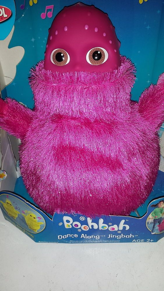 New Pink Jingbah Boohbah Dance A Long Dancing Interactive Boobah Plush Child Toy Christmas Trends Christmas Toys Kids Toys