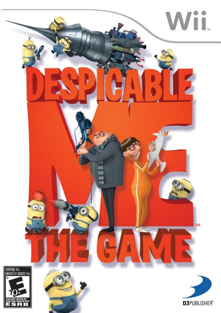 Despicable Me 2 Wii Games For Kids Make Great Party Games Wii