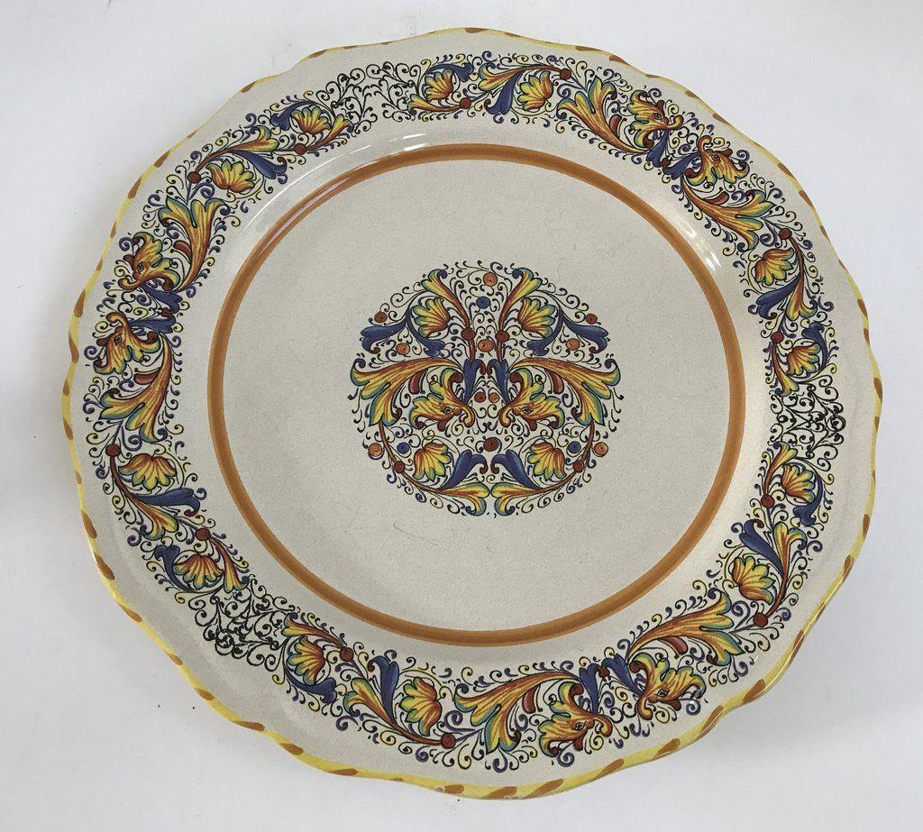 Vintage Italian Meridiana Ceramiche Hand Painted 11\  Dinner Plate  sc 1 st  Pinterest & Vintage Italian Meridiana Ceramiche Hand Painted 11\