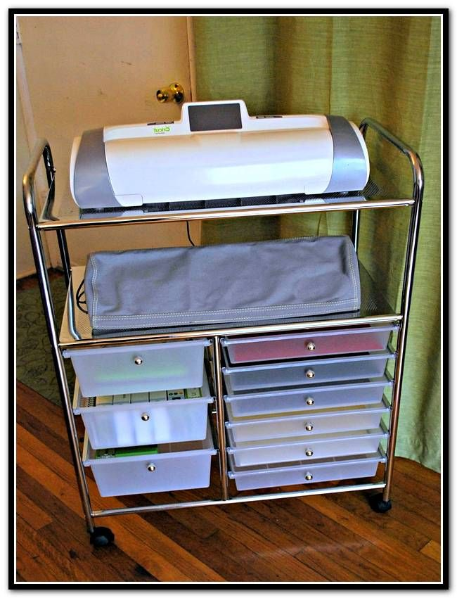 Recollections Craft Storage Cart