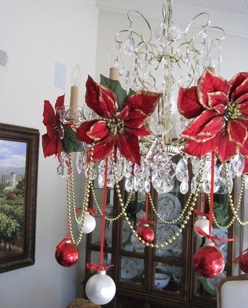 25 Amazing Christmas Decor Ideas | Christmas red decorations ...