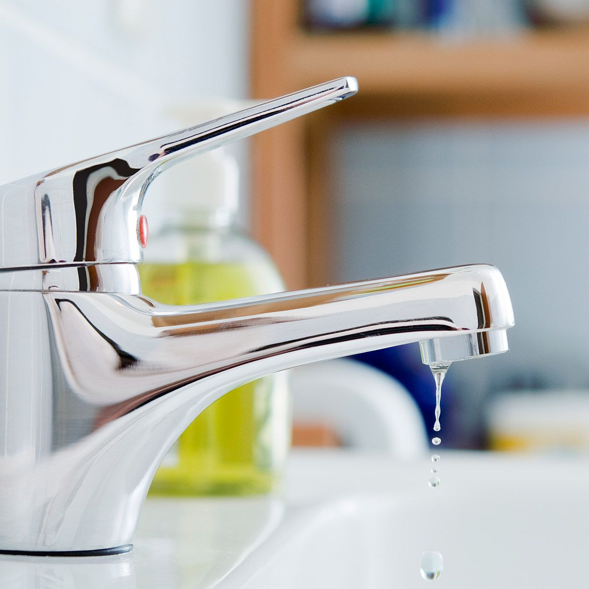 What you need to know to remove limescale Leaky faucet