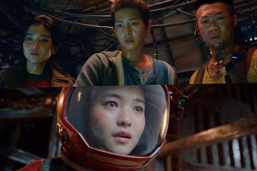 """Watch: Song Joong Ki, Kim Tae Ri, And More Encounter Danger And Thrilling Adventure In Trailer For """"Space Sweepers"""""""