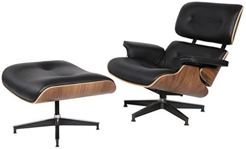 New eMod Mid Century Plywood Eames Lounge Chair Ottoman