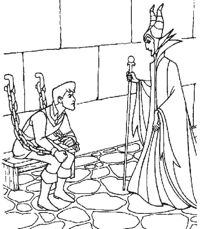 sleeping beauty coloring pages google sgning - Sleeping Beauty Coloring Pages Free