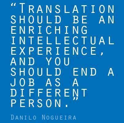 Translation Should Be An Enriching Intellectual