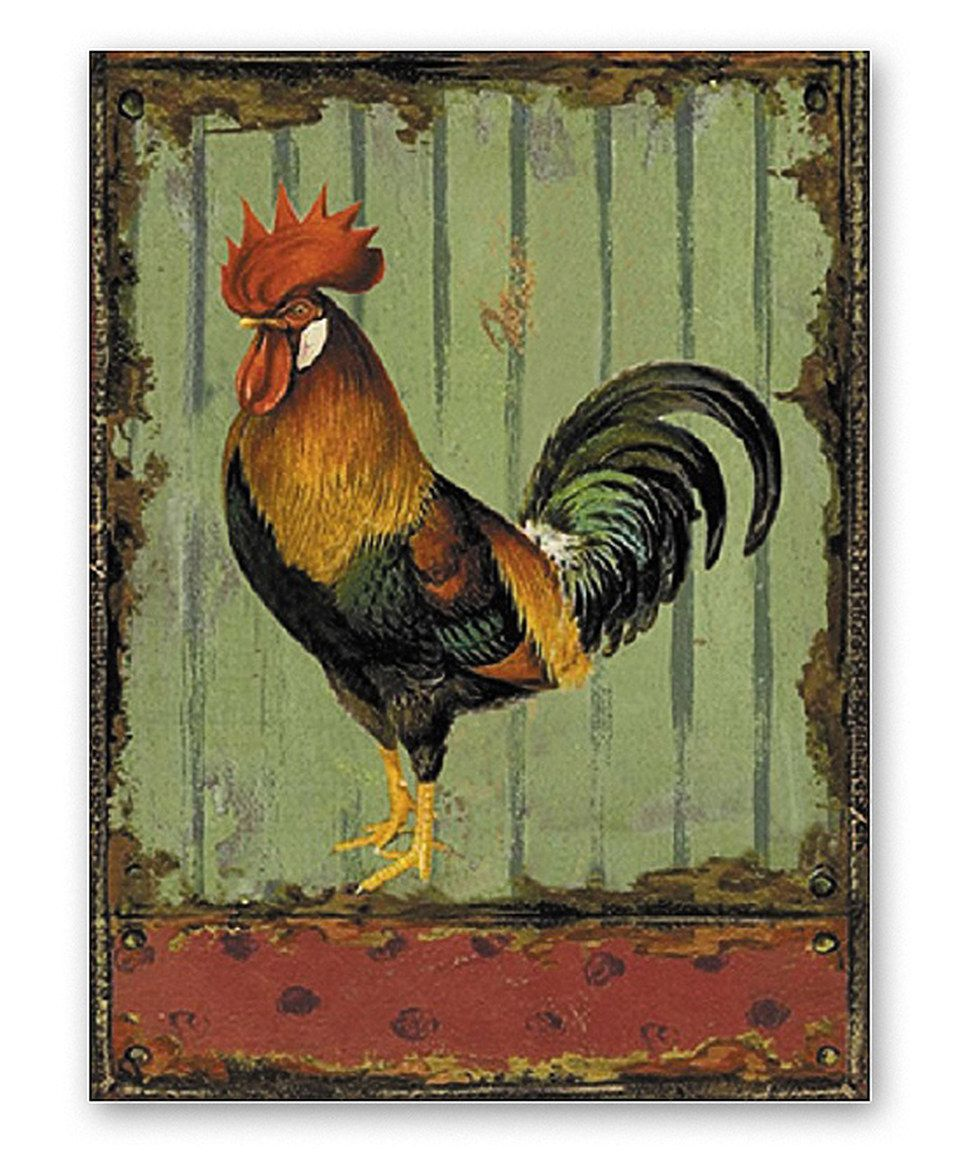 Zulily Home Decor: Love This Rooster Metal Wall Art By M Home Decor On