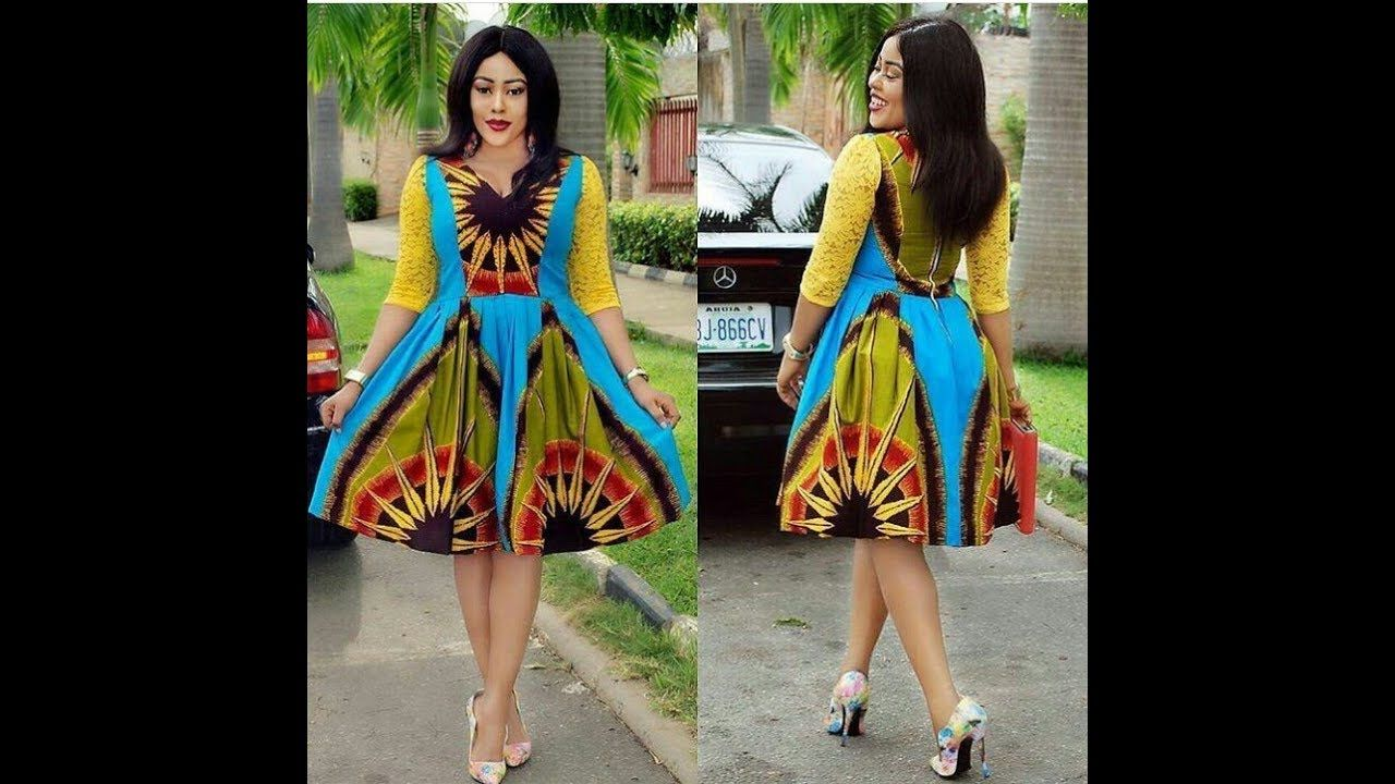 4239b2210f Kitenge Short Dresses  Latest 2018 Beautiful and Stylish  Kitenge Short .