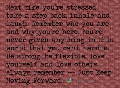 ...moving forward....