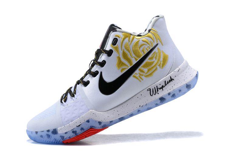 "d55ea7e9ecb50a Gold Rose Sneaker Room x Nike Kyrie 3 ""Mom"" Men s Basketball Shoes Jordan  Sneakers"