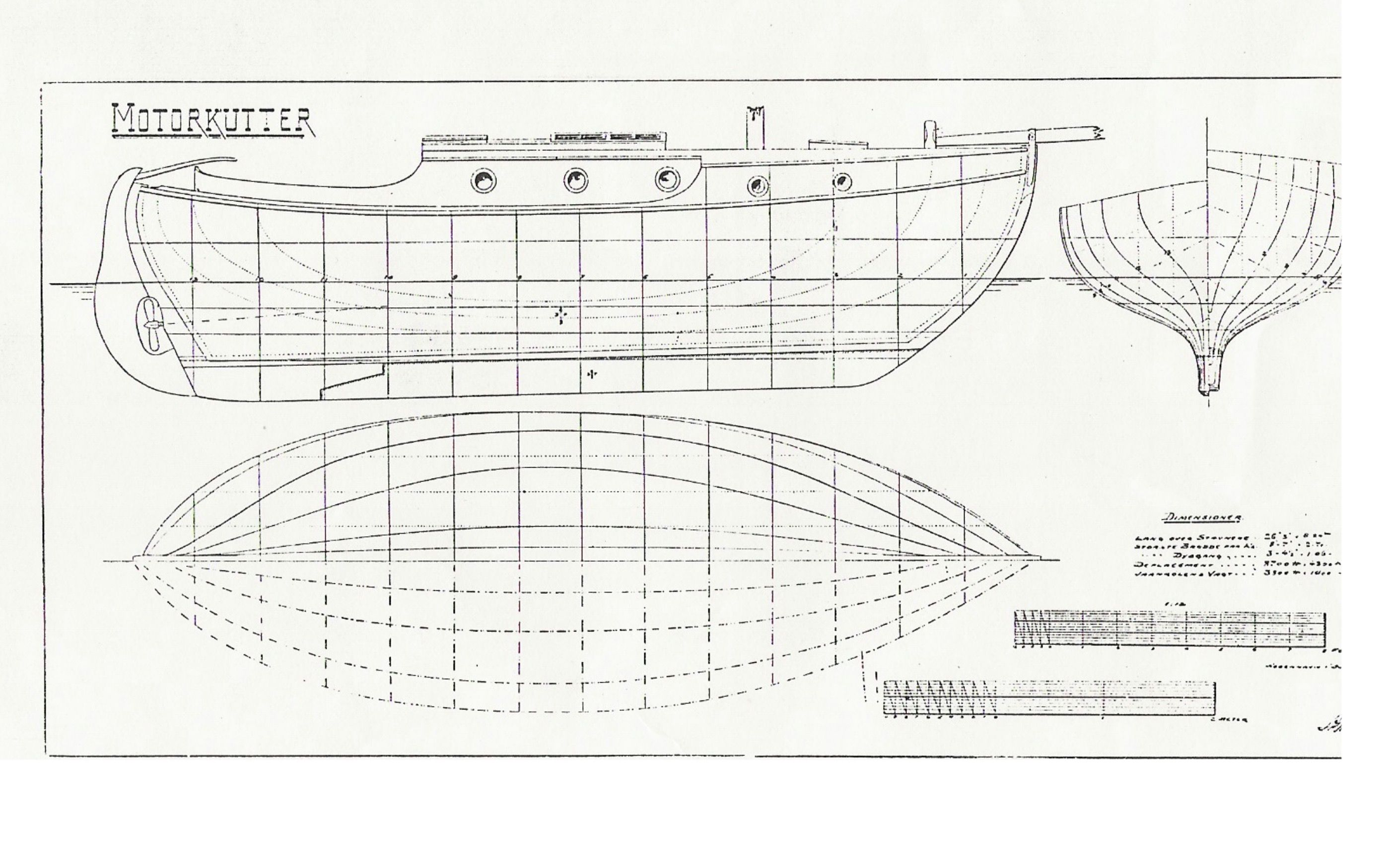 Danish Build 27 Gaff Cutter In Aarhus 1918 The First Ford Model T Engine Diagram Private Yacht