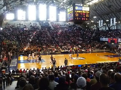 Number 8 Most Incredible Places To Watch College Basketball Hinkle Fieldhouse Butler The Butler Bulldogs College Sports Incredible Places Butler Bulldogs