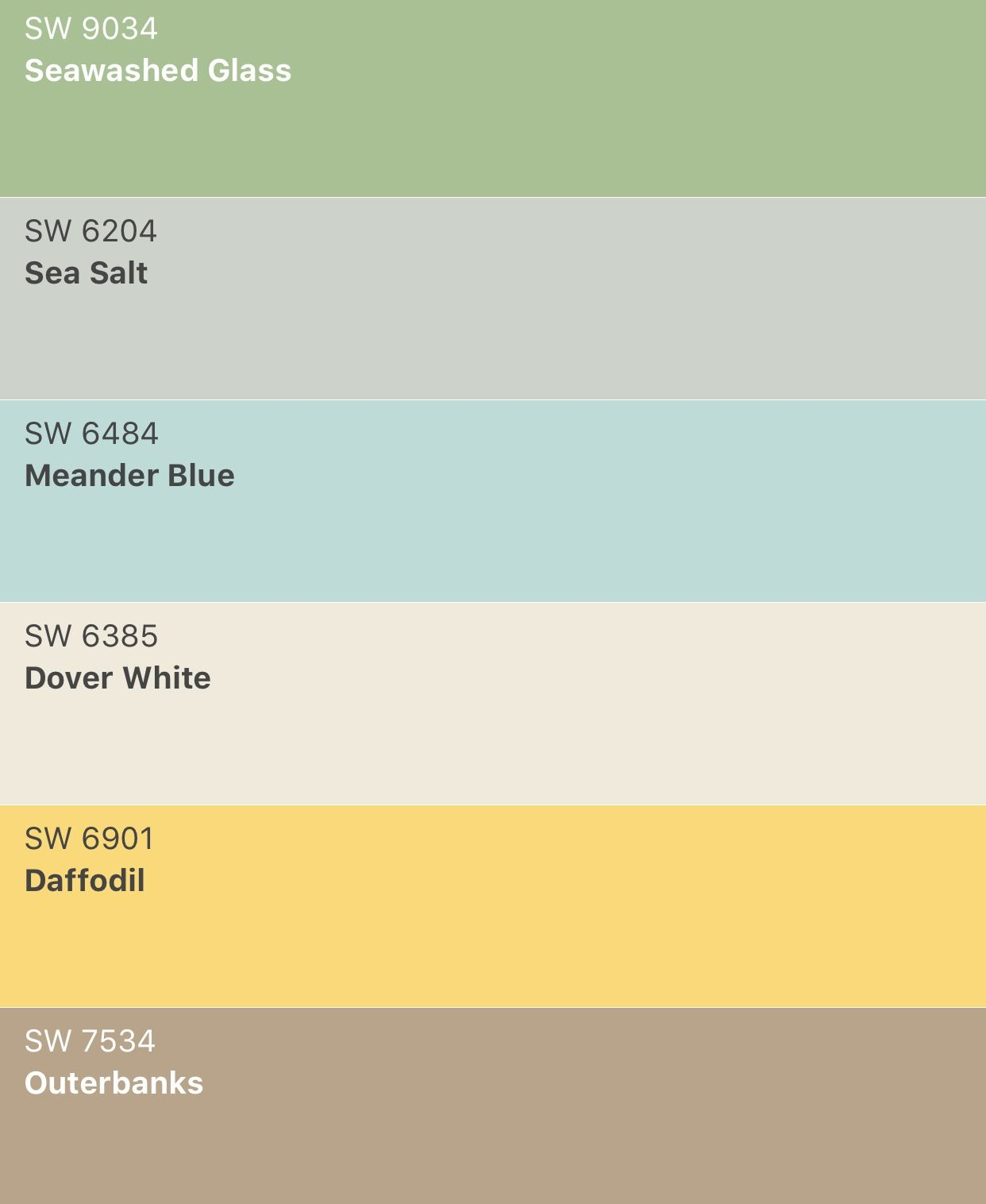 New Interior Paint Colors! Lighter And Brighter Sherwin
