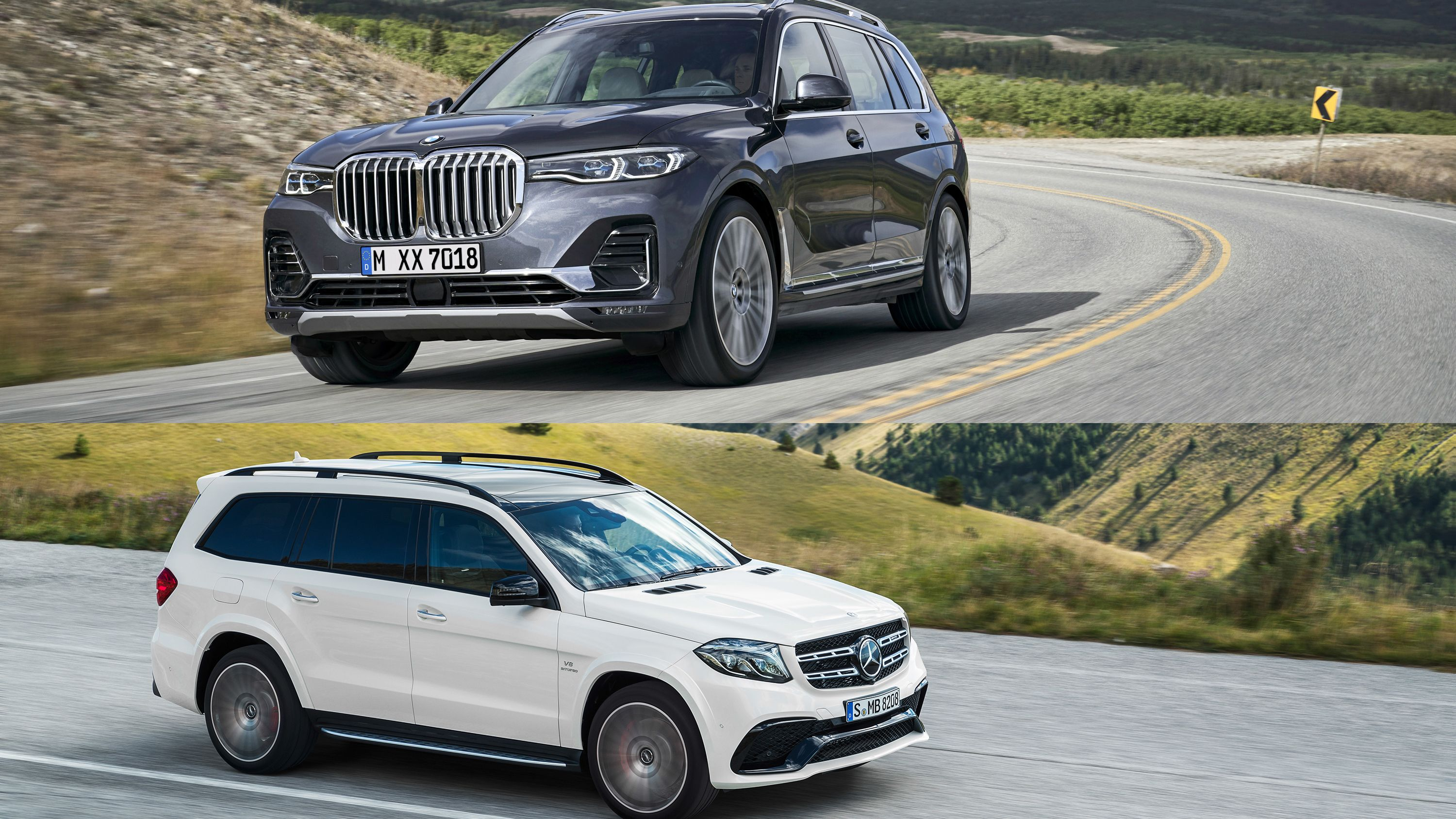 2020 Mercedes Gls New Photographs Of Full Measurement Suv Coming For Bmw X7 Bmw Coming Fullsize Gls Mercedes Pho Mercedes Benz Suv Mercedes Suv Bmw X7