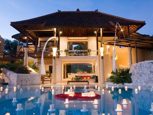 modern balinese style homes - Balinese House Designs