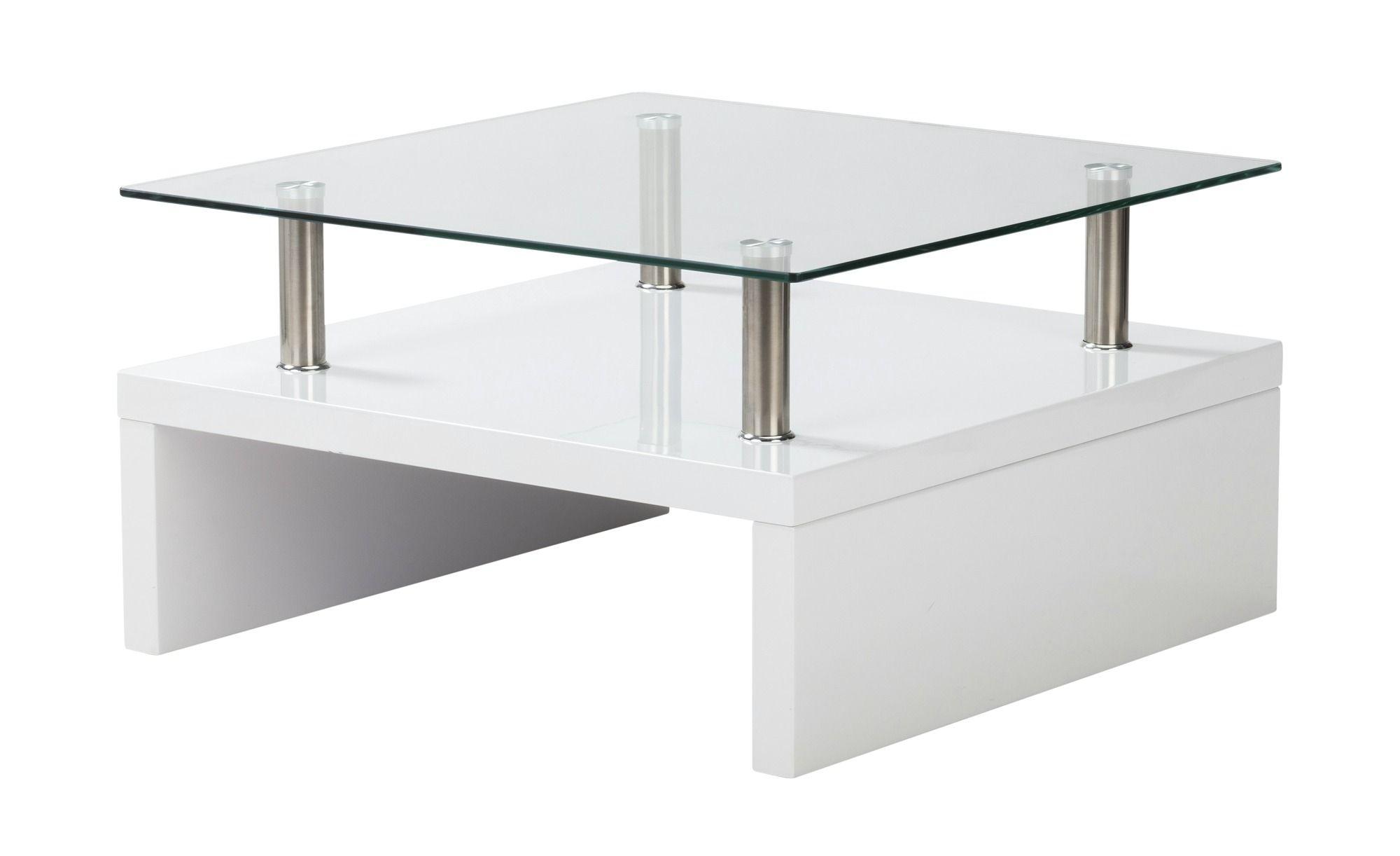 Couchtisch Weiss Metall Glas Spargi Gefunden Bei Mobel Hoffner