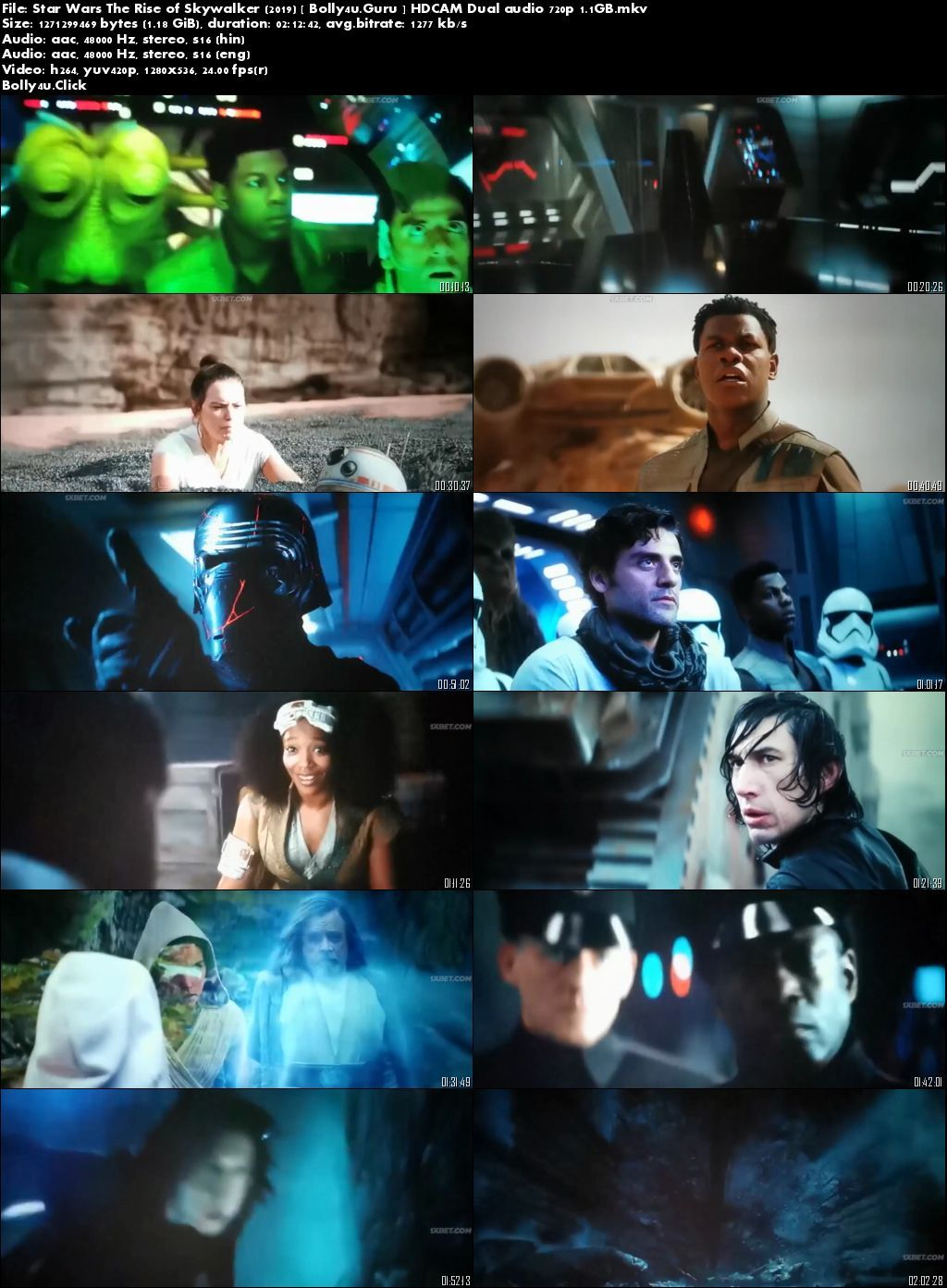 Star Wars The Rise Of Skywalker 2019 Hdcam 400mb Hindi Dual Audio 480p Mark Hamill Star Wars Free Movies Online