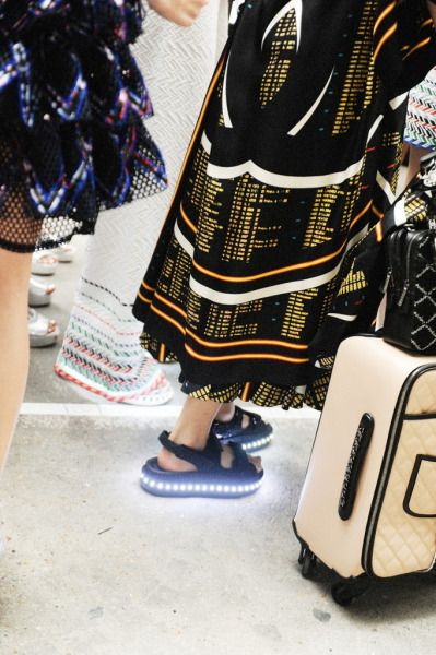 rowdyism:  Chanel ss16 by Elise Toide