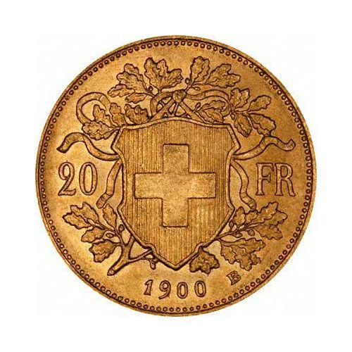 Swiss 20 Franc Gold Coin Cunhagem