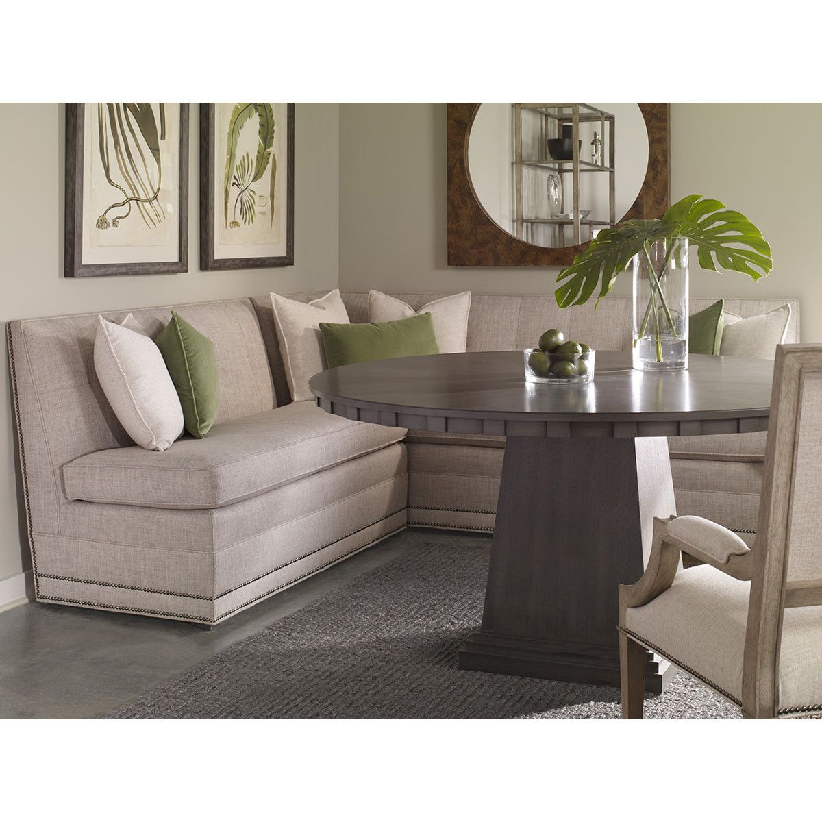 Vanguard Furniture Olmstead Armless Dining Banquette W754