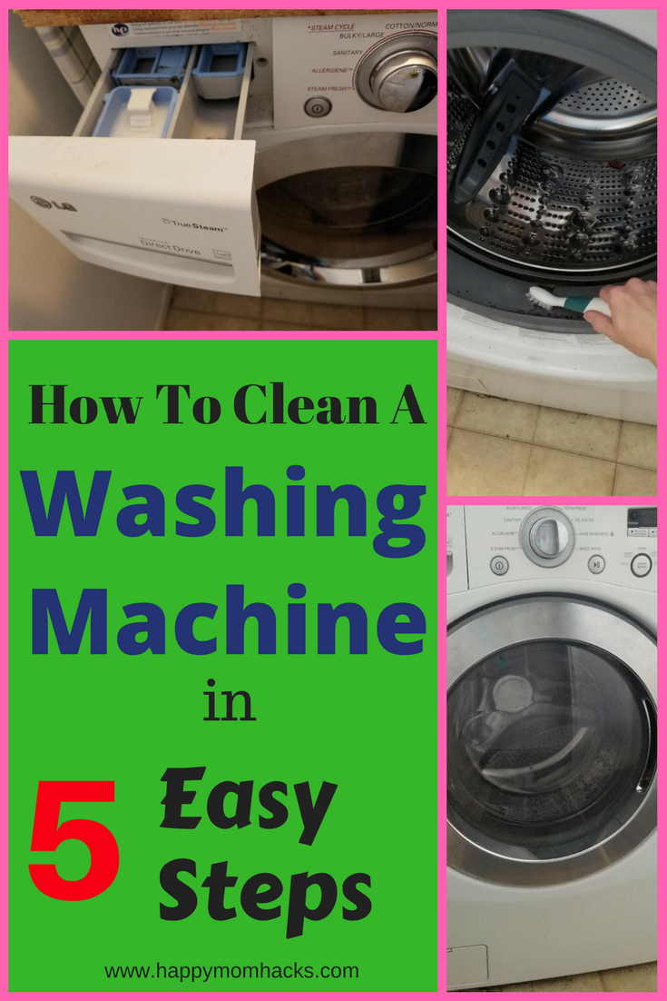 How To Clean A Front Loading Washing Machine With Bleach With