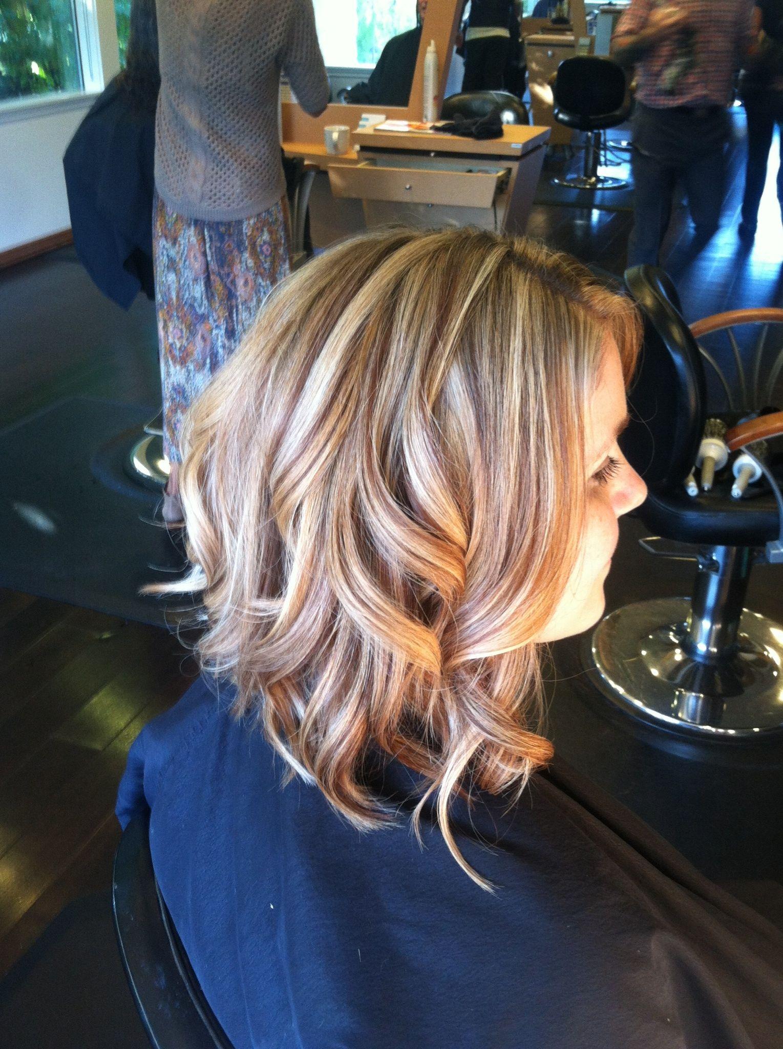 Foils Highlights Lowlights Blonde Sandy Blonde Hair