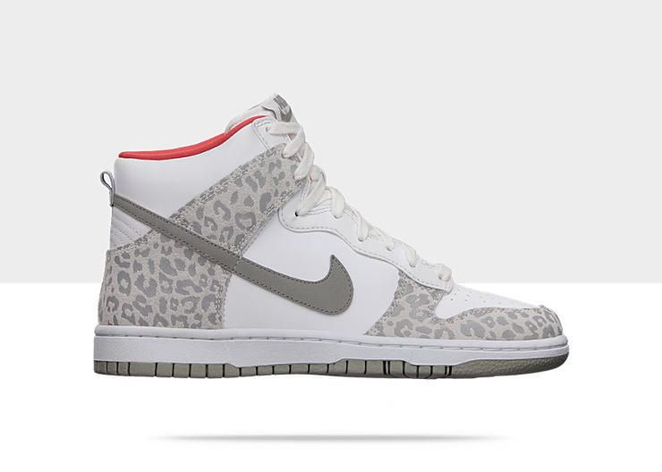 lowest price 0aea7 c7c04 Nike Dunk High Skinny Womens Shoe cheetah grey E95 just got these for  Christmas!!