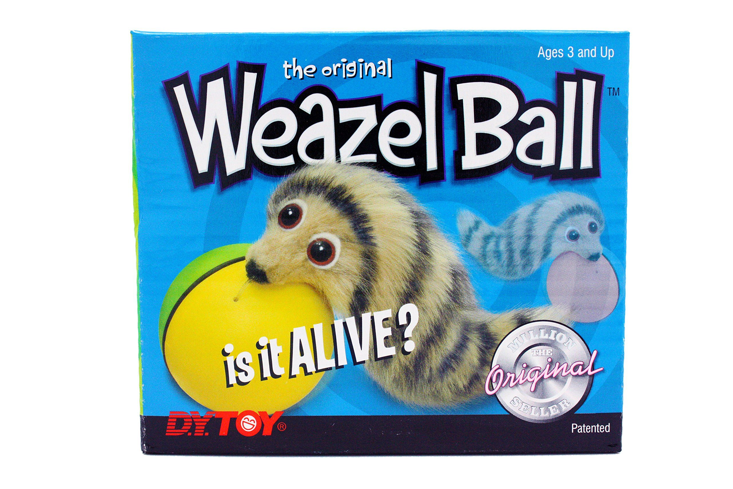 The Weasel Rolls with Ball Weazel Ball