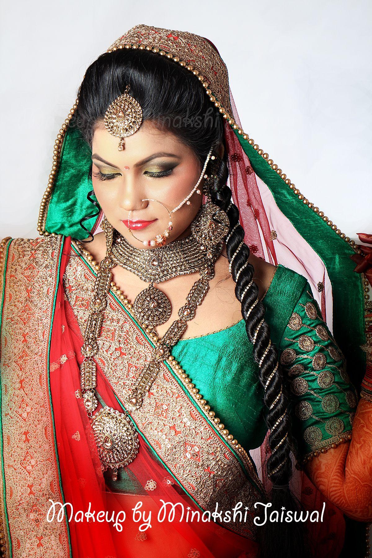 Wedding Airbrush makeup for my beautiful bride by Minakshi