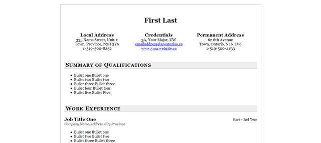 Free Professional Html  Css CvResume Templates  Cv Resume